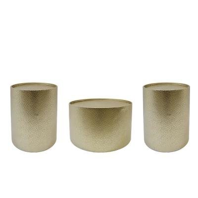 Braeburn Gold Accent and Coffee Table Set (Set of 3)