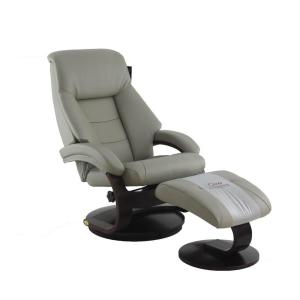 Relax R Montreal Putty Top Grain Leather Recliner With