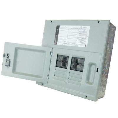 60 Amp 8-Space 120/240V Single Phase 3 Wire Surface Mount NEMA 1 Generator Panel