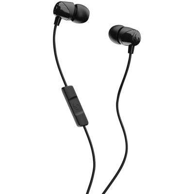 Jib In-Ear Earbuds with Microphone in Black