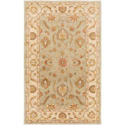 Oxford Isabelle Moss 5 ft. x 8 ft. Indoor Area Rug