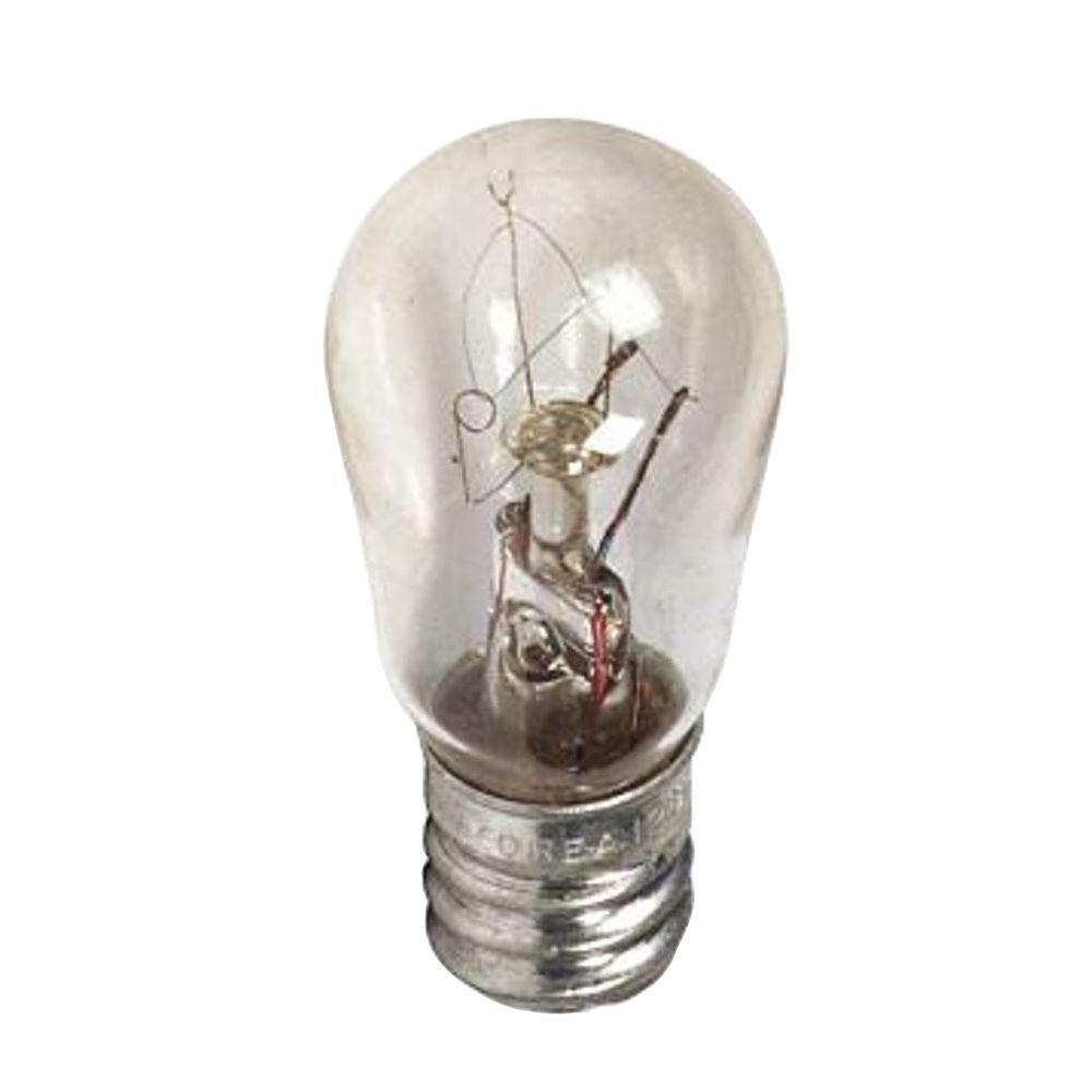 6-Watt Incandescent S6 Clear Indicator Light Bulb (48-Pack)