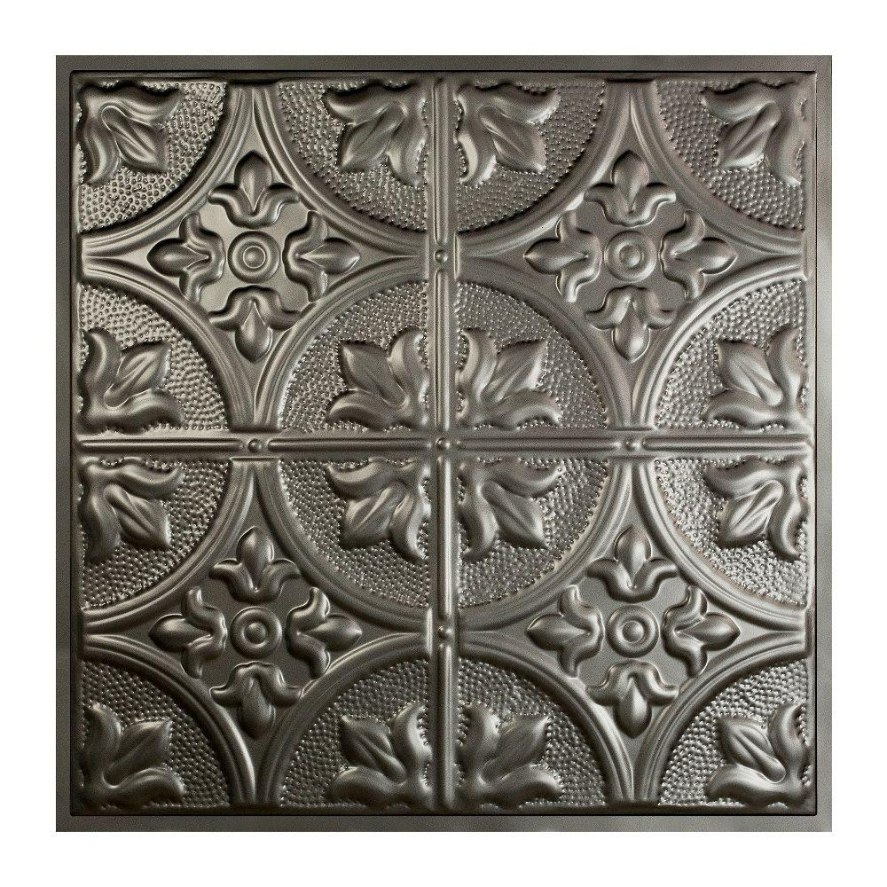 Great lakes tin jamestown 2 ft x 2 ft lay in tin ceiling