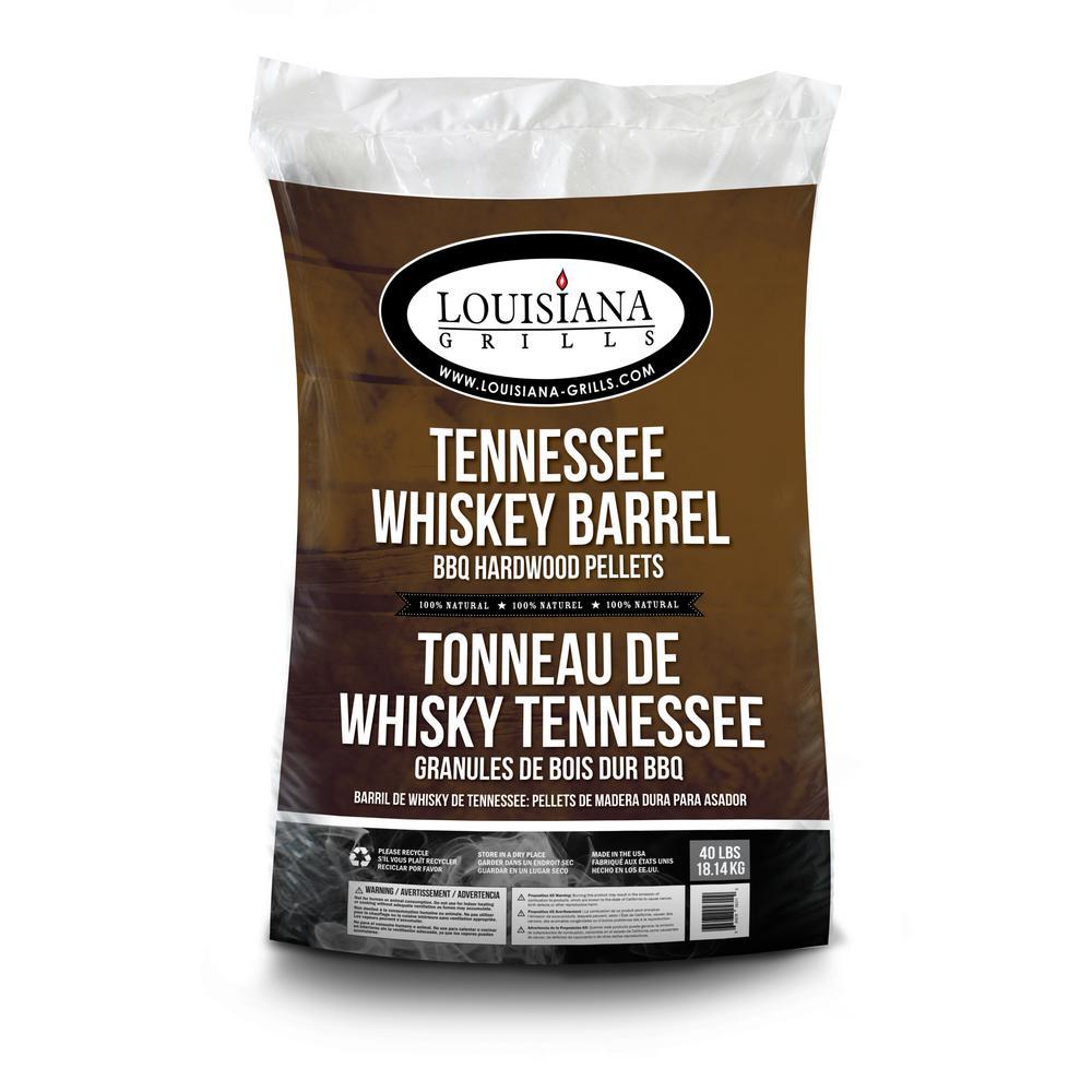 Louisiana Grills 40 lb. Tennessee Whiskey Barrel Hardwood Pellets