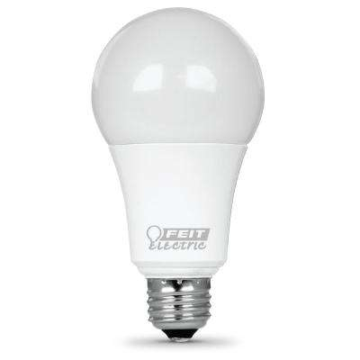 100W Equivalent Warm White A19 Dimmable LED Medium Base Light Bulb (Case of 12)