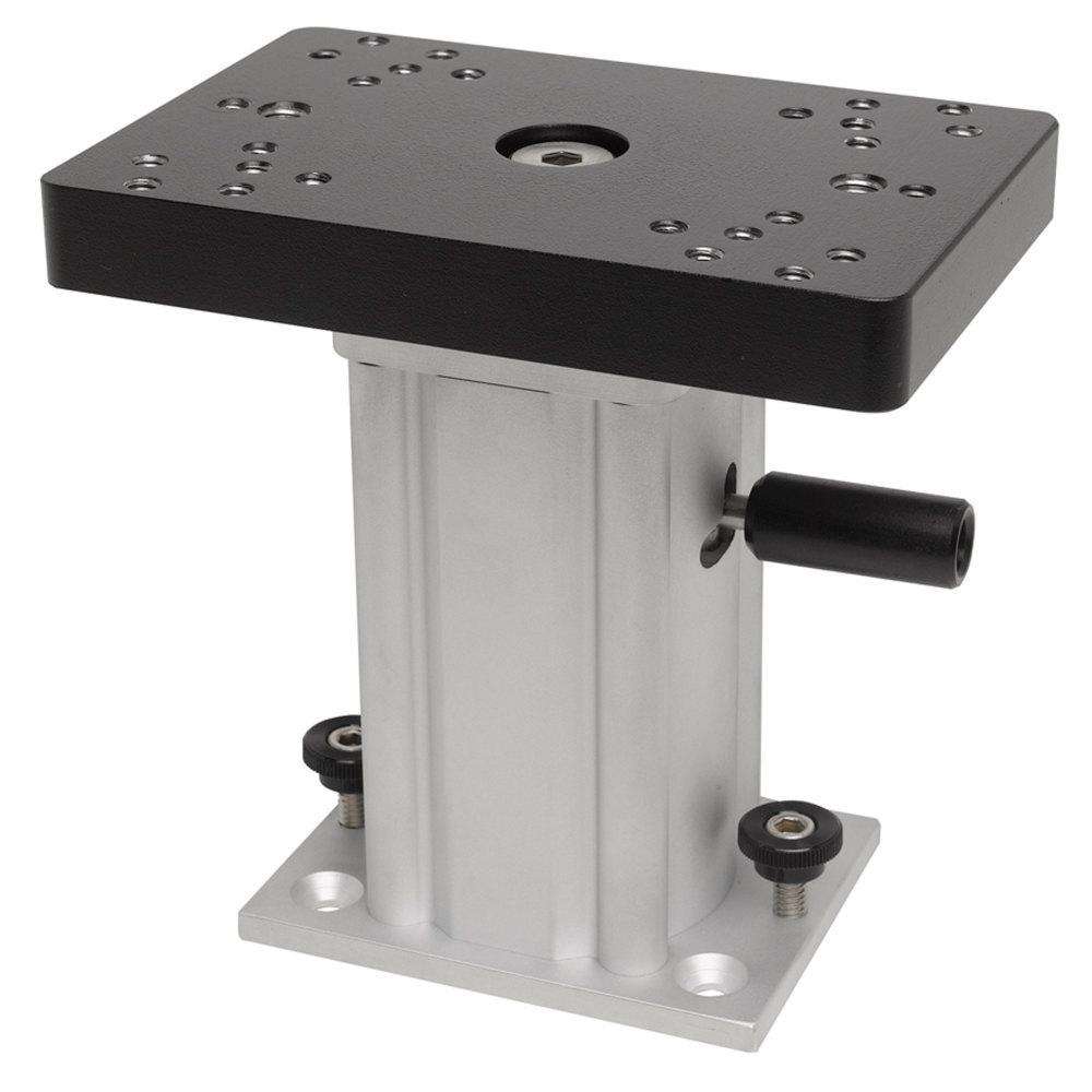 6 in. Aluminum Swivel Base Downrigger Pedestal