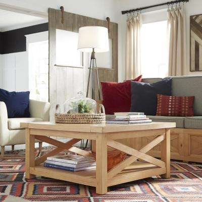 Country Lodge Pine Coffee Table
