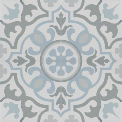 Blume Encaustic 8 in. x 8 in. Matte Porcelain Floor and Wall Tile (5.33 sq. ft. / case)