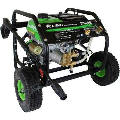 Pressure Storm Series 3,300 psi 2.5 GPM AR Axial Cam Pump Electric Start Gas Pressure Washer with Panel Mounted Controls