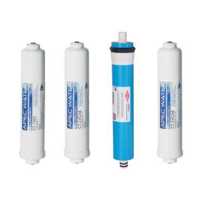 Ultimate Complete Replacement Filter Set for RO-CTOP Countertop RO Systems