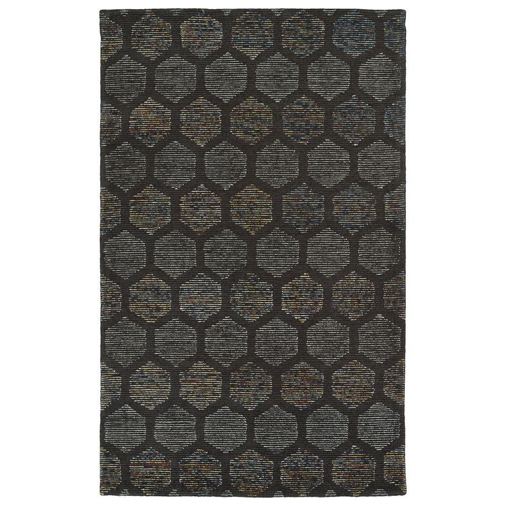 Evanesce Chocolate 5 ft. x 7 ft. 9 in. Area Rug