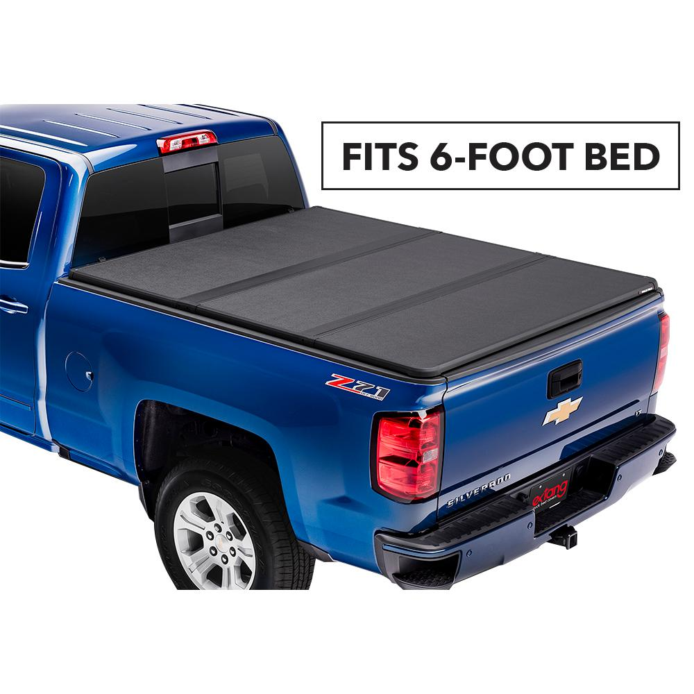 Extang Solid Fold 2 0 Tonneau Cover For 94 03 Chevy S10 Gmc Sonoma 96 01 Isuzu Hombre 6 Ft Bed 83560 The Home Depot