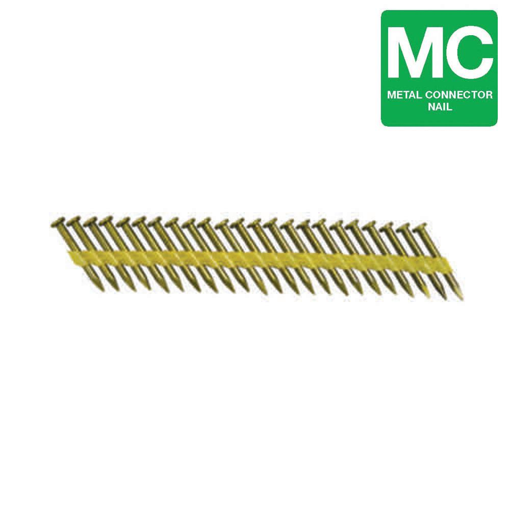 1-1/2 in. x 0.148-Gauge Plastic Galvanized Steel Smooth Shank Joist Framing