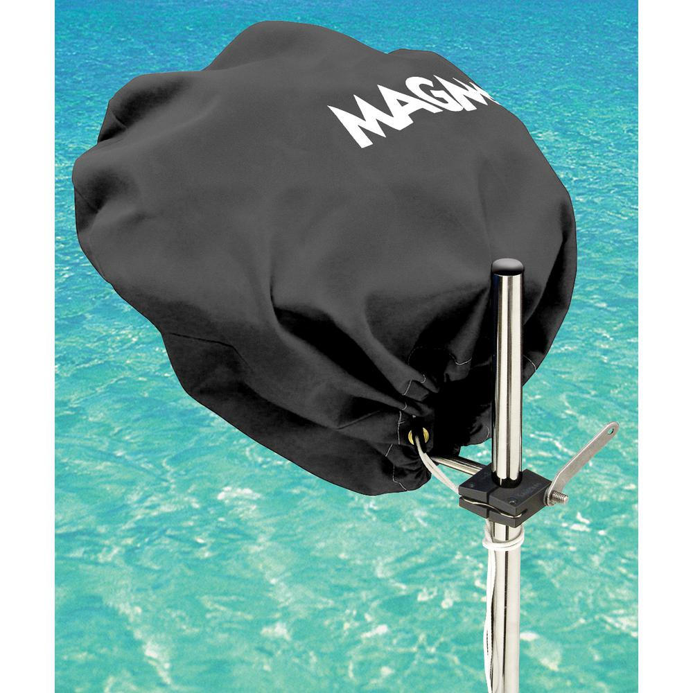 Marine Kettle Grill Party Size Cover and Tote Bag, Jet Black