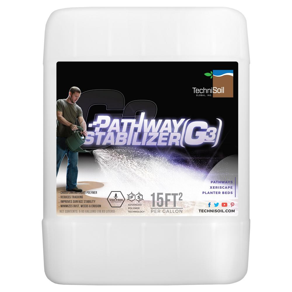 TechniSoil TechniSoil 5 gal. G3 - Pathway Stabilizer Bottle