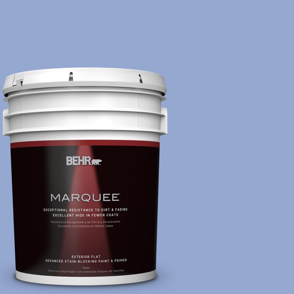 BEHR MARQUEE 5-gal. #M540-4 Hopeful Dream Flat Exterior Paint