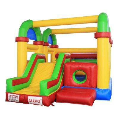 Inflatable Bounce House with Slide and Blower