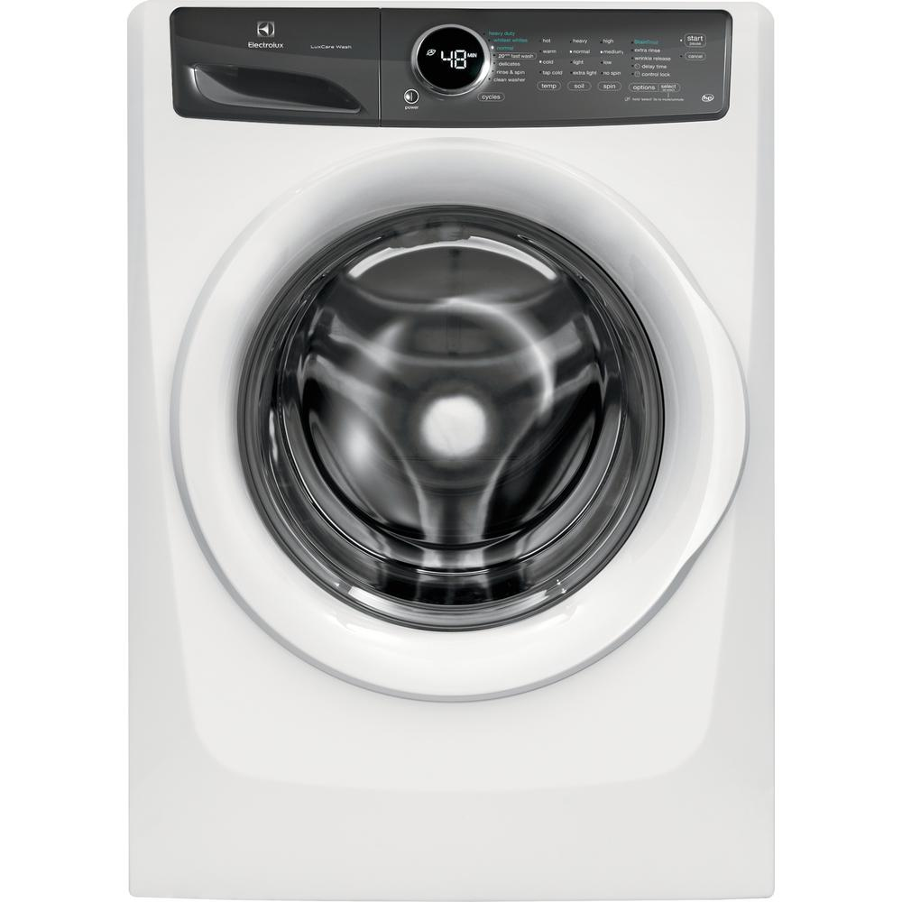 Electrolux 4 3 cu  ft  Front Load Washer with LuxCare Wash System in White,  ENERGY STAR