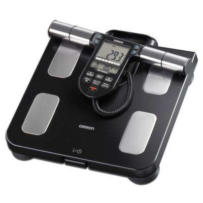 LCD Full Body Sensor Scale in Black
