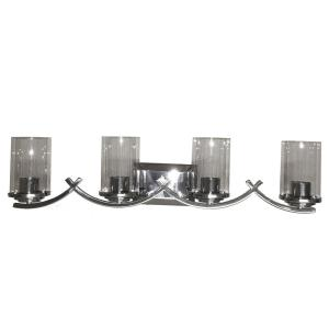 Brina 4-Light Chrome Vanity Lighting