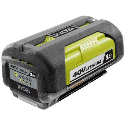 40-Volt Lithium-Ion 5 Ah High Capacity Battery