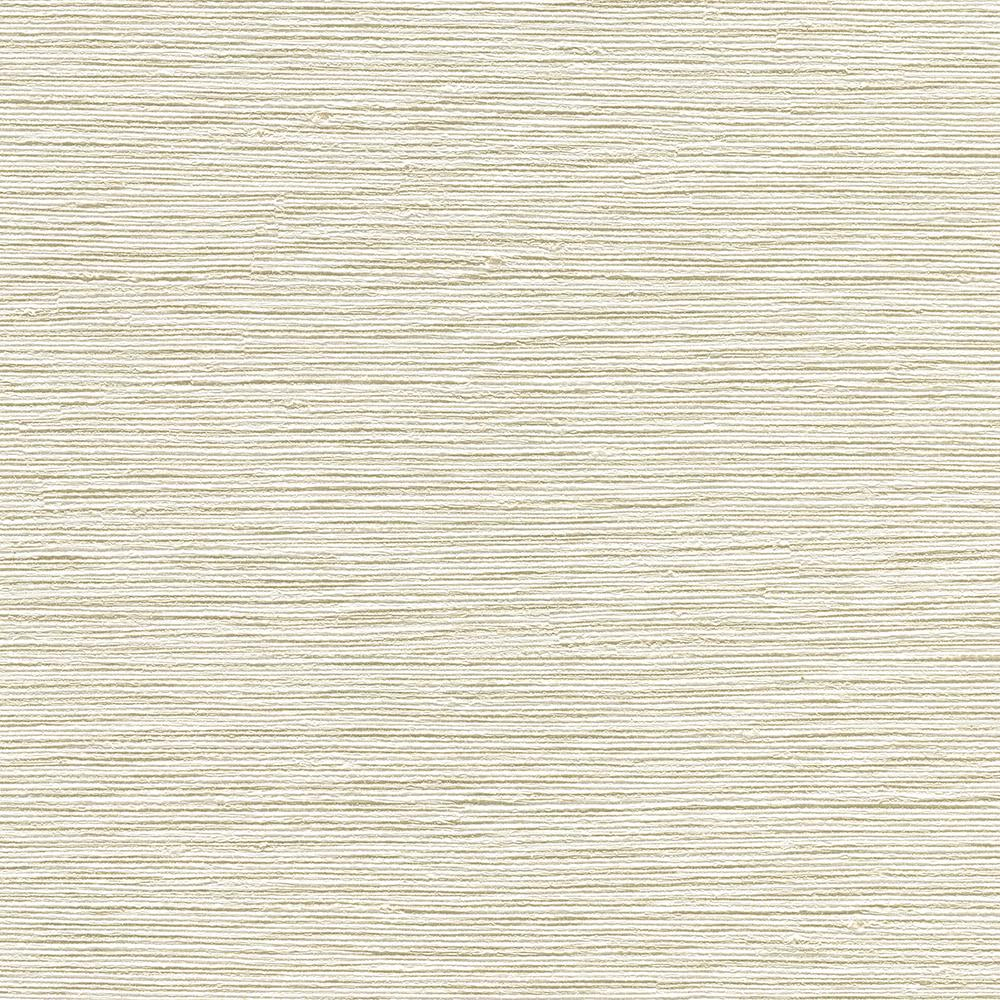 Vertical Grasscloth Wallpaper: 8 In. X 10 In. Biwa Beige Vertical Weave Wallpaper Sample