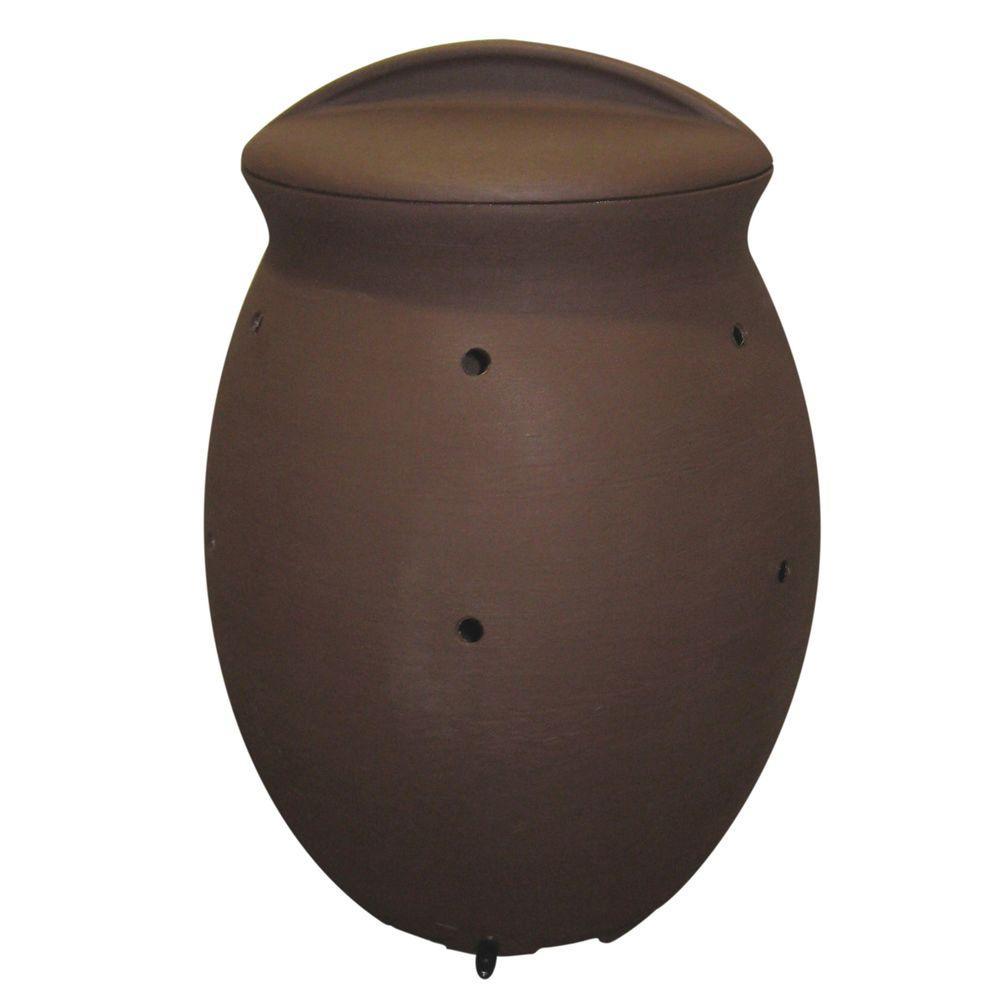 Algreen Terra 50 gal. Dark Brown Composter