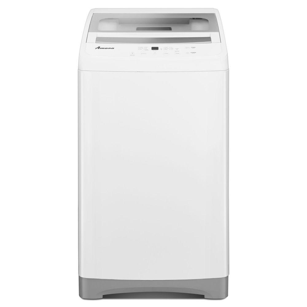 Amana 1.5 cu. ft. Top Load Compact Washer in White with S...