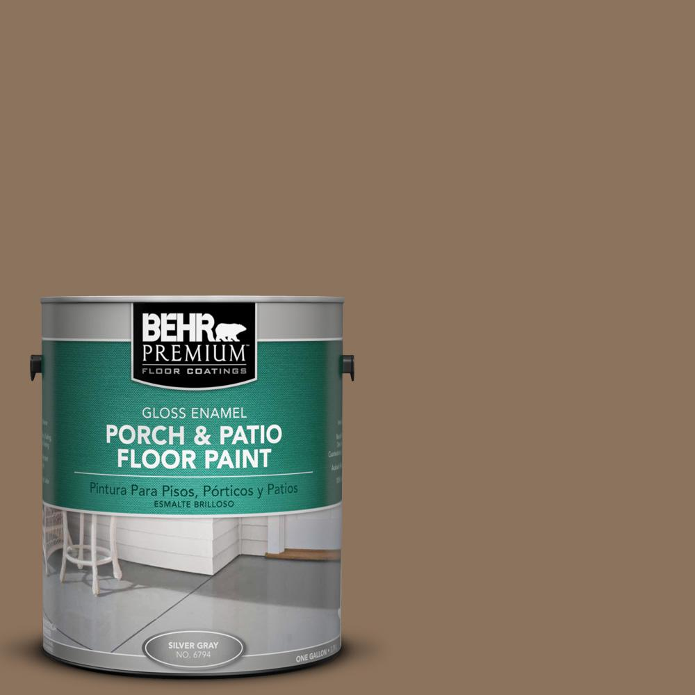 Behr Premium 1 Gal Deep Base Low Er Exterior Porch And Patio Floor Paint 630001 The Home Depot