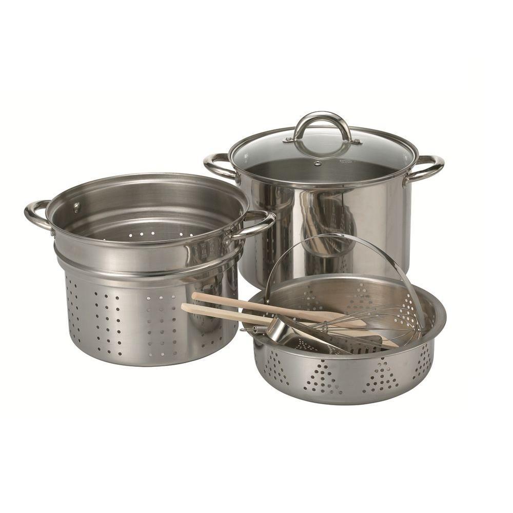 Ragalta 8-Piece Stainless Steel Pasta Pot Set-DISCONTINUED
