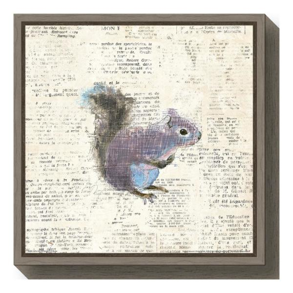 Amanti Art ''Into the Woods V no Border (Squirrel)'' by Emily