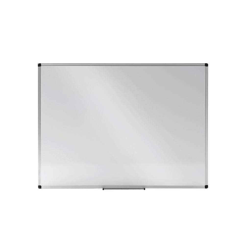 d668c025d8b Sandusky 48 in. W x 2 in. D Dry Erase Board with Tray in White ...