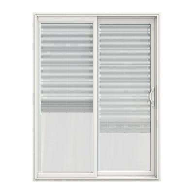 60 in x 80 in v 2500 white vinyl right hand full - 60 Patio Door