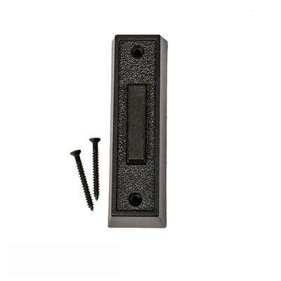 Wired Push Button for Automatic Gate Opener Systems in Black