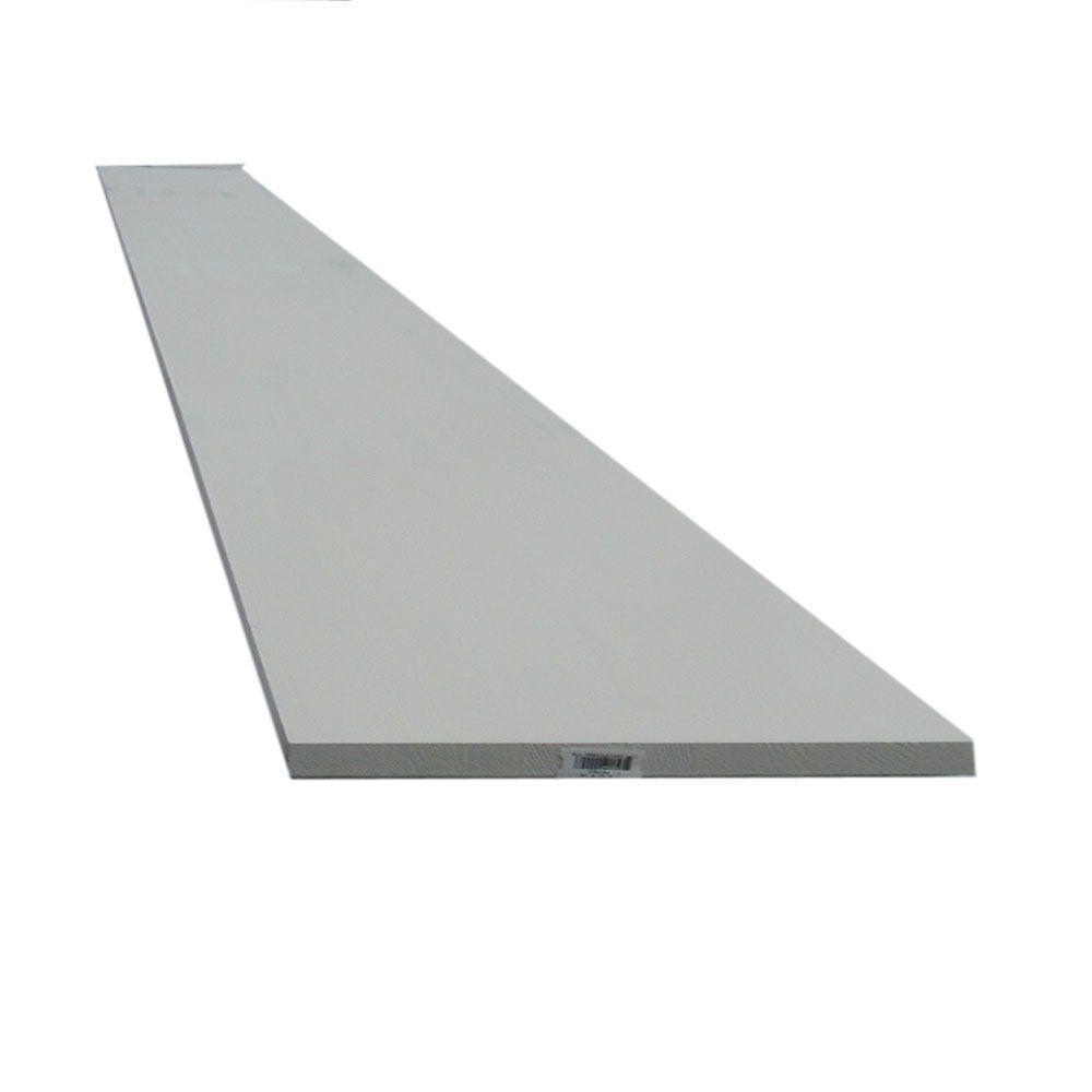 Trim Board Primed Finger-Joint (Common: 1 in  x 6 in  x 8 ft