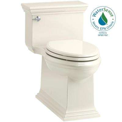Memoirs Stately 1-piece 1.28 GPF Single Flush Elongated Toilet in Biscuit