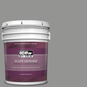 Behr Ultra 5 Gal 780f 5 Anonymous Extra Durable Eggshell Enamel Interior Paint And Primer In One 275405 The Home Depot