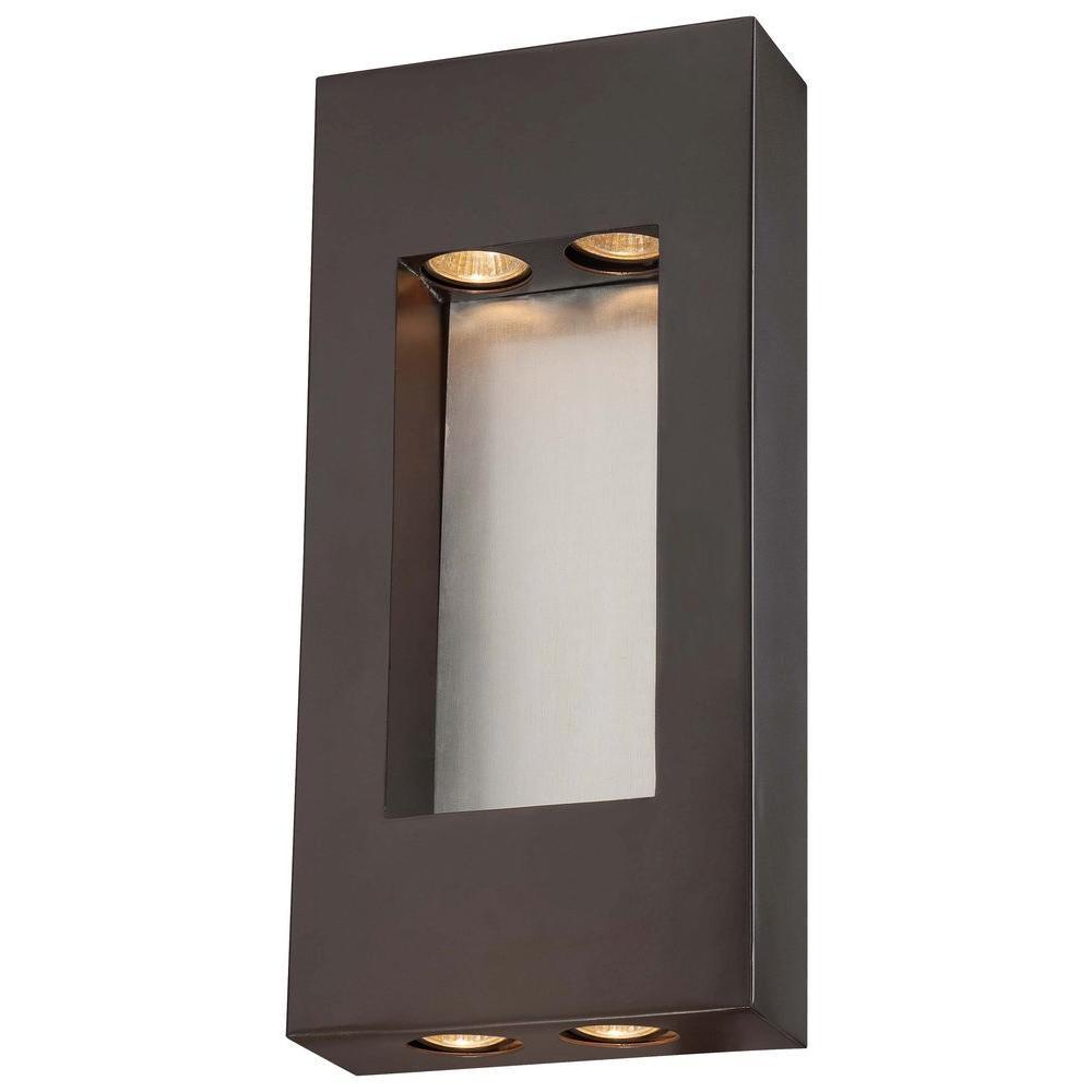 Geox 4-Light Dorian Bronze Outdoor Pocket Lantern