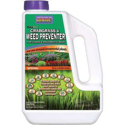 4 lbs. DuraTurf Crabgrass and Weed Preventer
