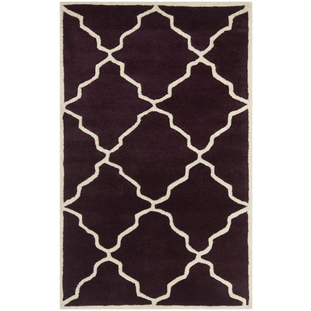 Dark Purple Rugs: Safavieh Chatham Dark Purple 2 Ft. X 3 Ft. Area Rug