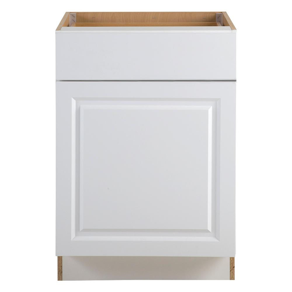 Bon Hampton Bay Benton Assembled 24 X 34.5 X 24.5 In. Base Cabinet With Soft  Close