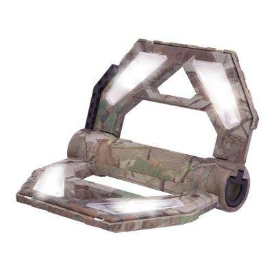 10-Watt 400-Lumen Camo Rechargeable Folding LED Work Light