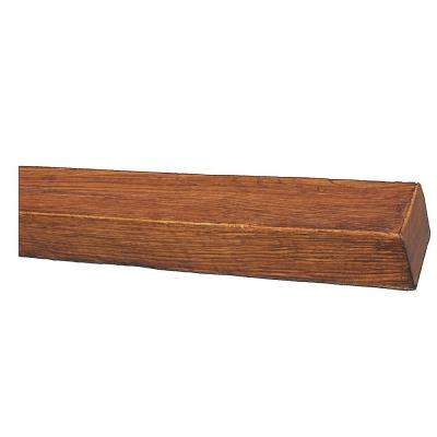 5-1/8 in. x 4 in. x 16 ft. Faux Wood Beam