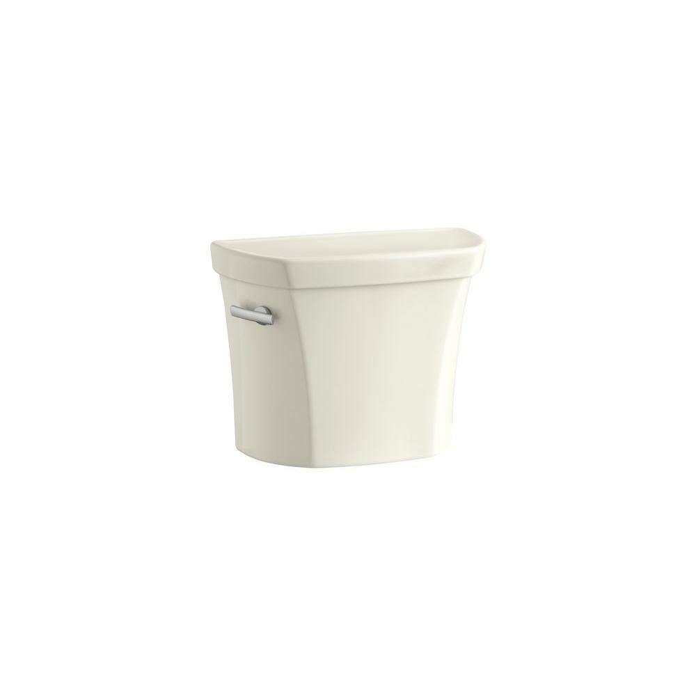 KOHLER Wellworth 1.6 GPF Single Flush Toilet Tank Only in Biscuit