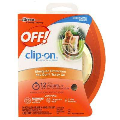 Clip-On Mosquito Repellent Starter