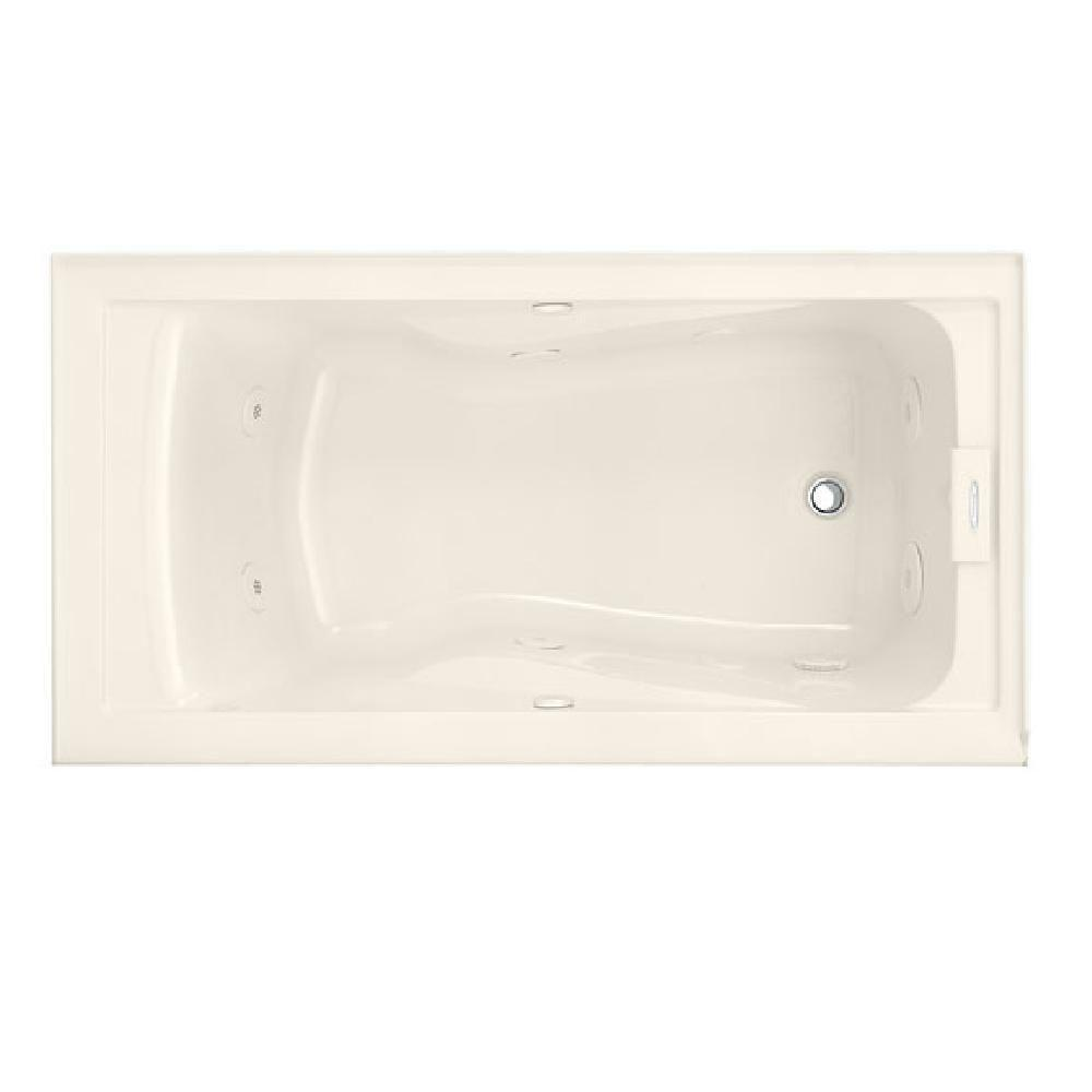 Lifetime 5 ft. Whirlpool Tub with Right Drain and Integral Apron