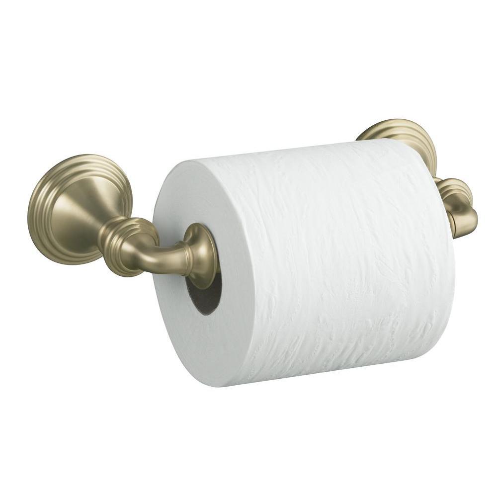 KOHLER Devonshire Wall-Mount Double Post Toilet Paper Holder in ...