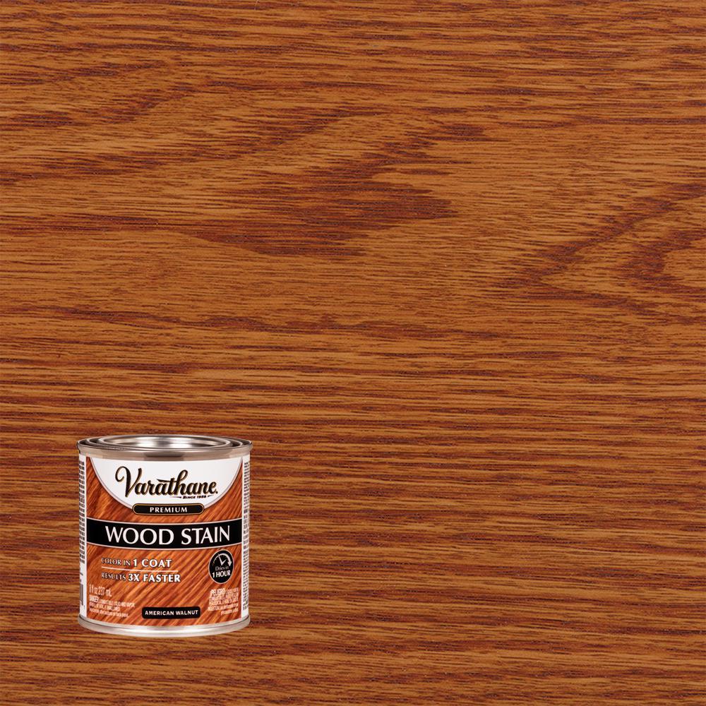 Varathane 8 oz. American Walnut Premium Fast Dry Interior Wood Stain