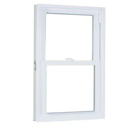 33.75 in. x 53.25 in. 70 Series Pro Double Hung White Vinyl Window with Buck Frame