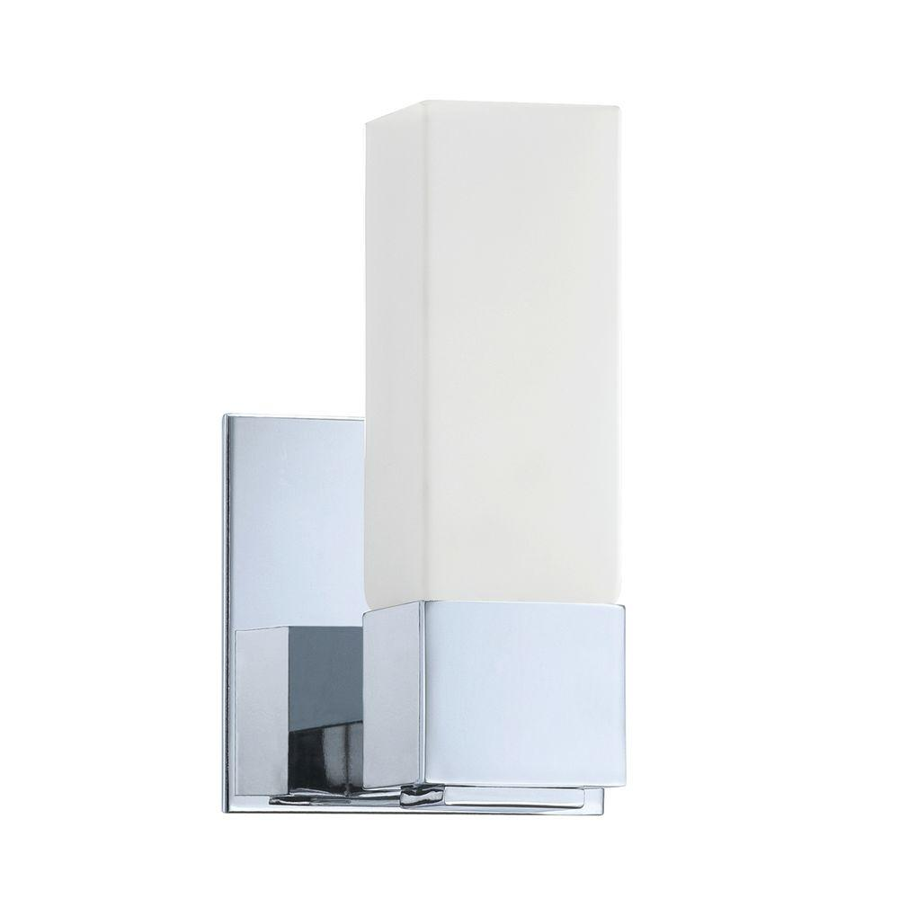 Madison Series 1-Light Chrome Bath Light